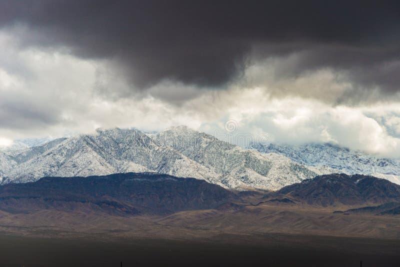 Kalifornia trasy 1 sceniczne góry fotografia royalty free