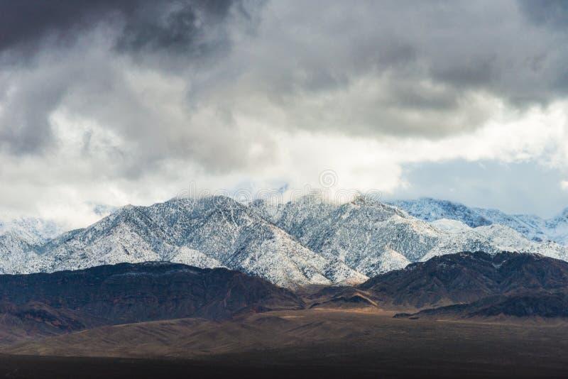 Kalifornia trasy 1 sceniczne góry obrazy stock