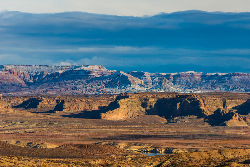 Kalifornia trasy 1 sceniczne góry obrazy royalty free