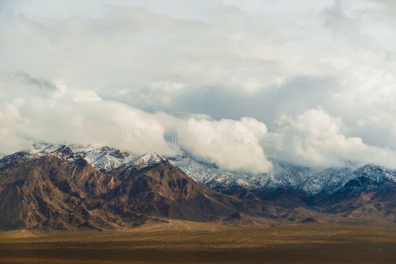 Kalifornia trasy 1 sceniczne góry fotografia stock