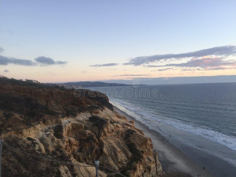 Kalifornia wybrzeże obraz royalty free