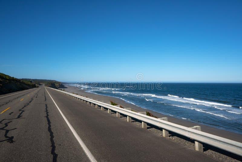 Kalifornia wybrzeże pacyfiku autostrada zdjęcia stock