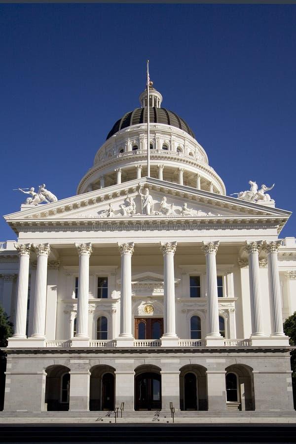 Kalifornien capitol fotografering för bildbyråer