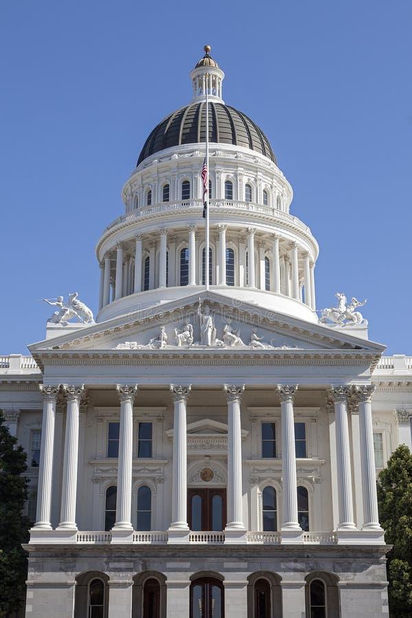 Kalifornien capitol royaltyfria foton