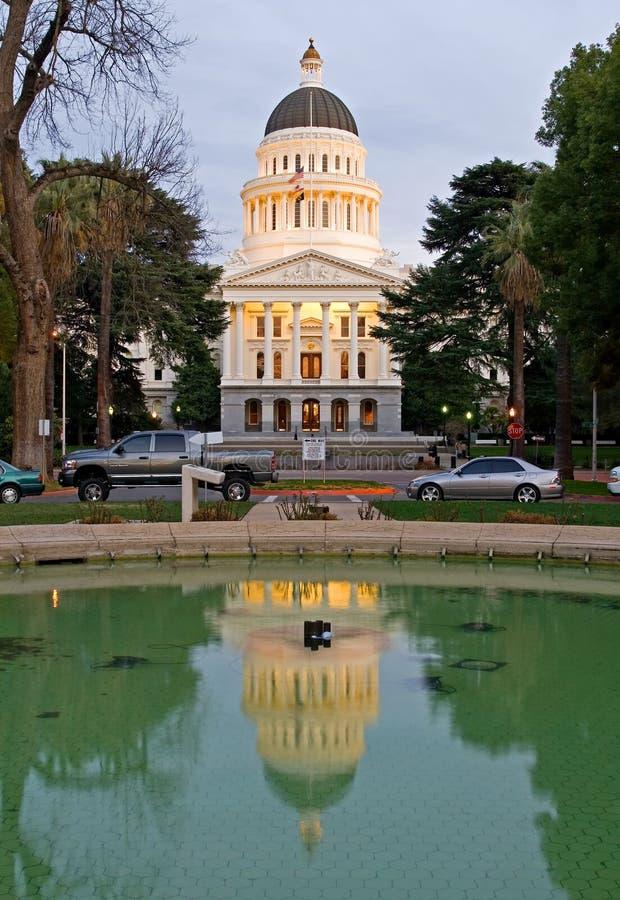 Kalifornien capitoltillstånd arkivfoto
