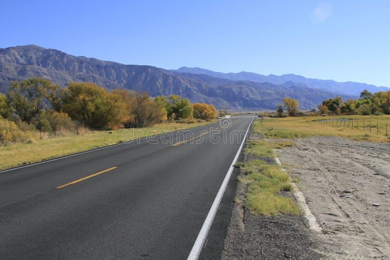 Kalifornien Death Valley arkivfoto