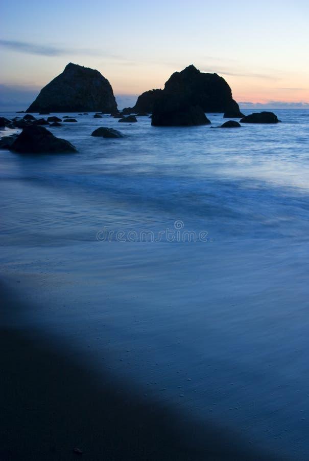 Kalifornien-Küste stockbild