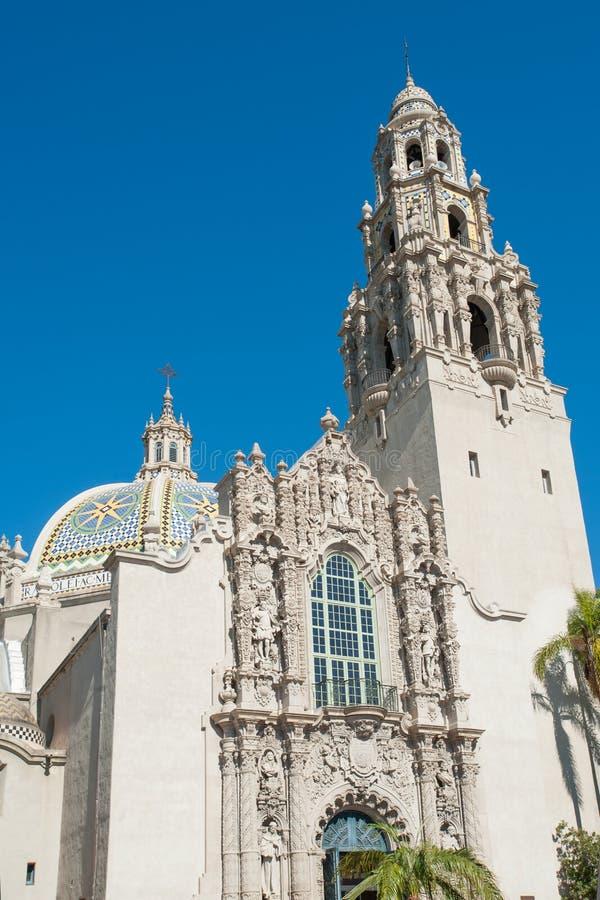 Kalifornien Klocka torn royaltyfria bilder