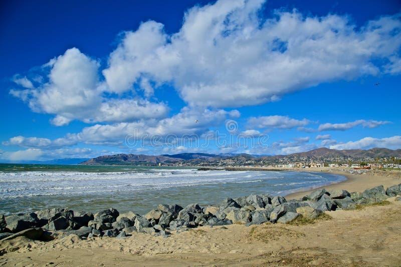 Kalifornien kustlinje Ventura arkivfoton