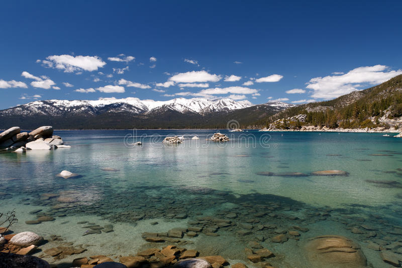 Kalifornien Lake Tahoe royaltyfri bild