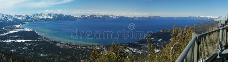 Kalifornien Lake Tahoe fotografering för bildbyråer