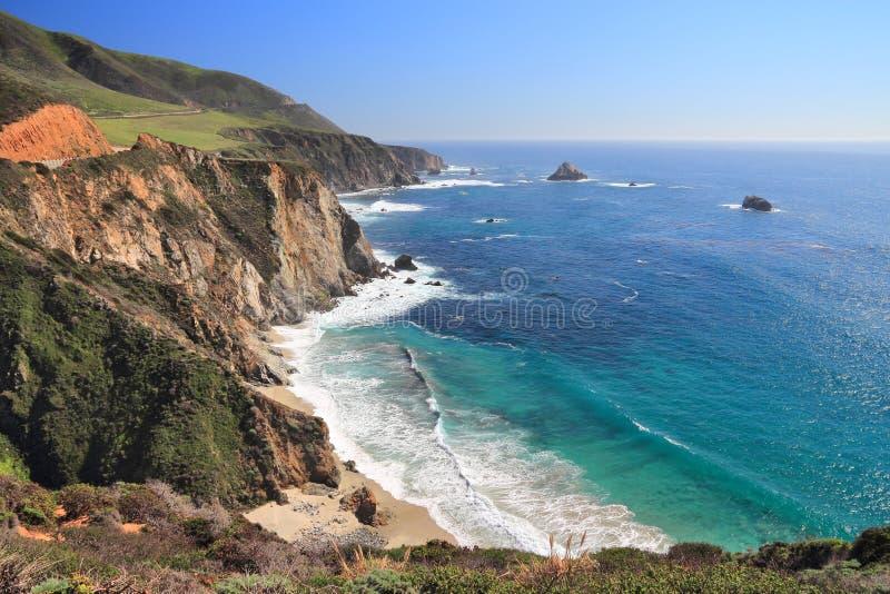 Kalifornien-Landschaft stockbilder