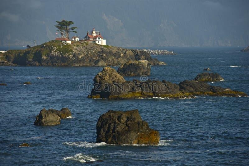 Kalifornien-Leuchtturm lizenzfreie stockfotos