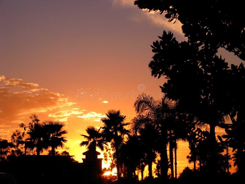 Download Kalifornien-Sonnenuntergang Stockfoto - Bild von küsten, kalifornien: 38702