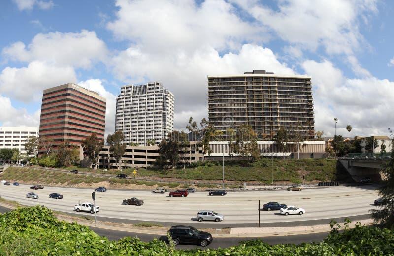 Kalifornien stadsglendale arkivbild