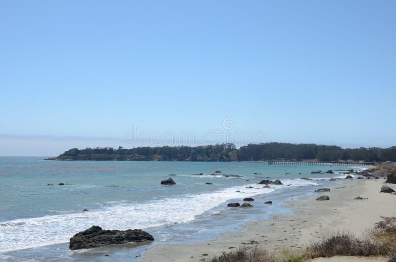 Kalifornien strand arkivfoton