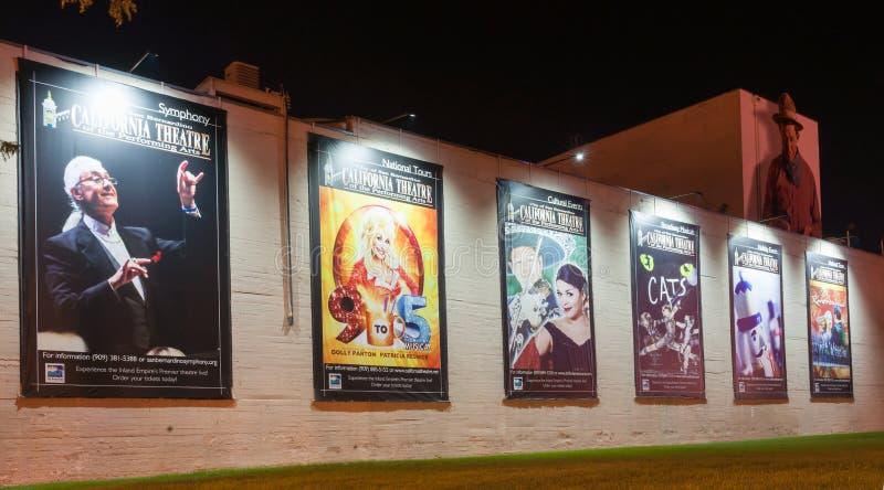 Kalifornien-Theater der Performing Arten lizenzfreie stockbilder