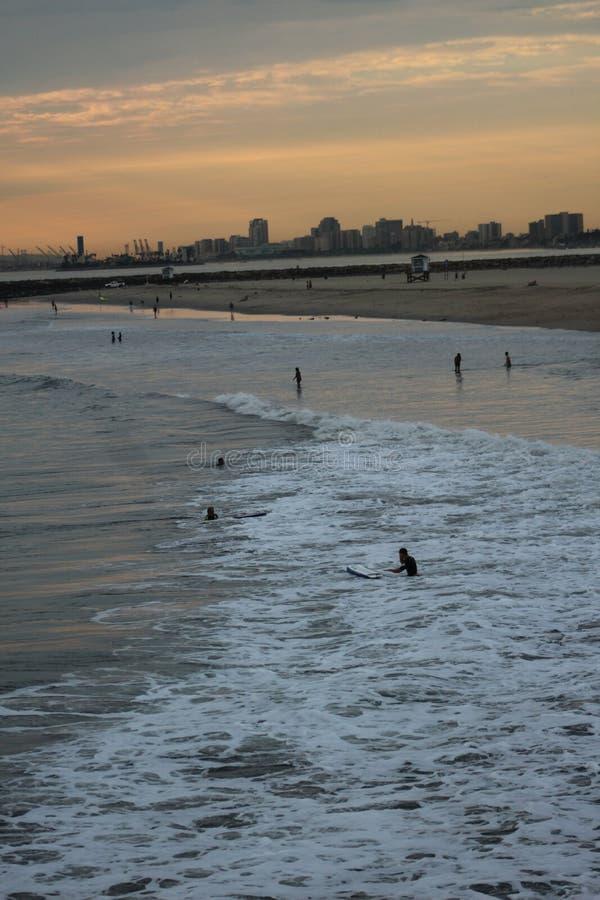 Kalifornien-Ufer lizenzfreies stockfoto