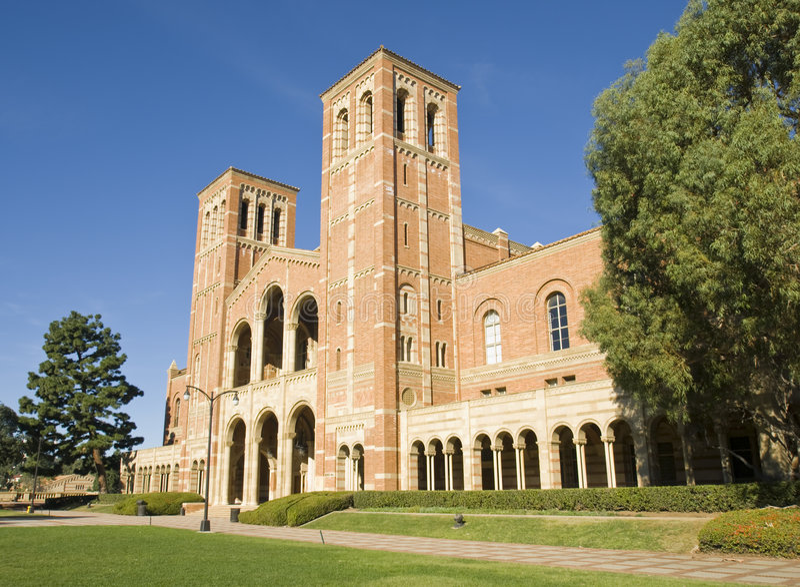 Kalifornien universitetsområdeuniversitetar royaltyfri bild