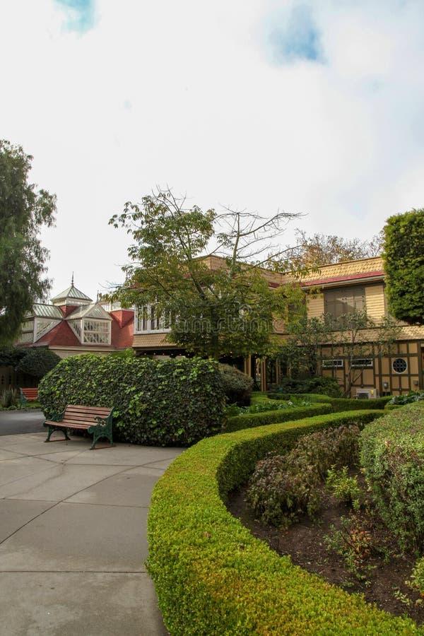 Kalifornien USA-December 12,2018: Det Winchester huset är spökehuset som är mest berömd i Kalifornien royaltyfria foton