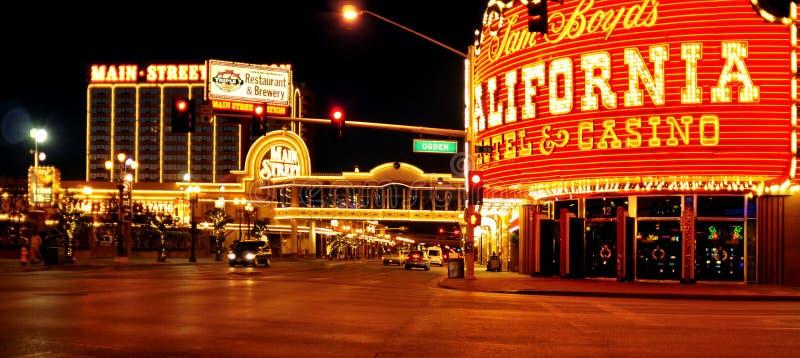 Kalifornienhotel und -kasino in Las Vegas, Vereinigte Staaten stockbilder