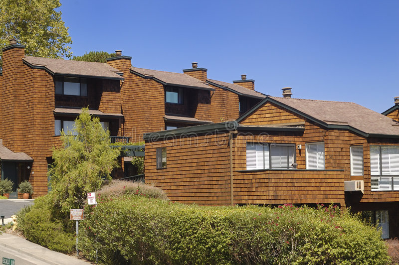Kalifornii 1 mieszkanie obrazy royalty free