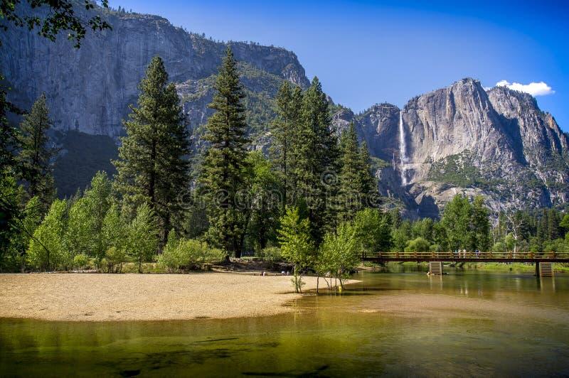 Kalifornii 2007 Stycznia parki narodowe usa do Yosemite zdjęcie stock