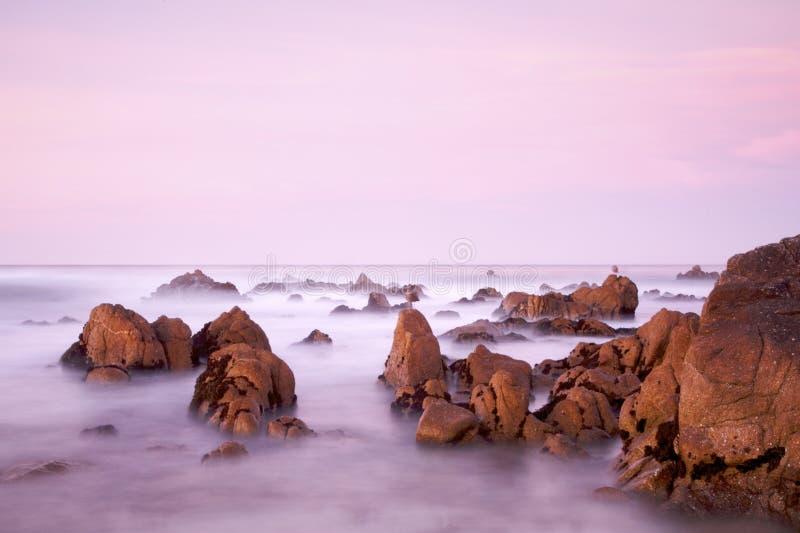 kalifornijczyk scena przybrzeżna zdjęcia stock