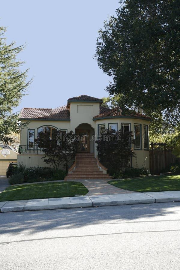 kalifornijskie półwyspu San Francisco domu klasycznych na południe zdjęcia royalty free