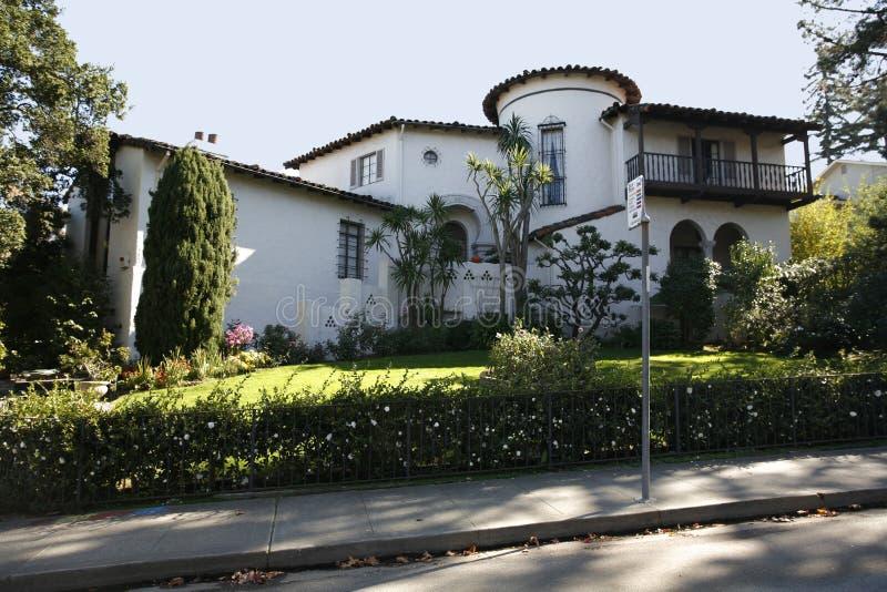 kalifornijskie półwyspu San Francisco domu klasycznych na południe obrazy royalty free