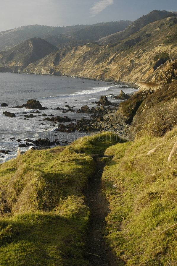 kalifornijskie przybrzeżne obrazy royalty free
