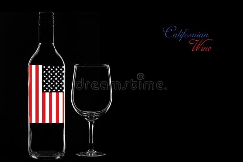 Kalifornischer Wein stockfoto