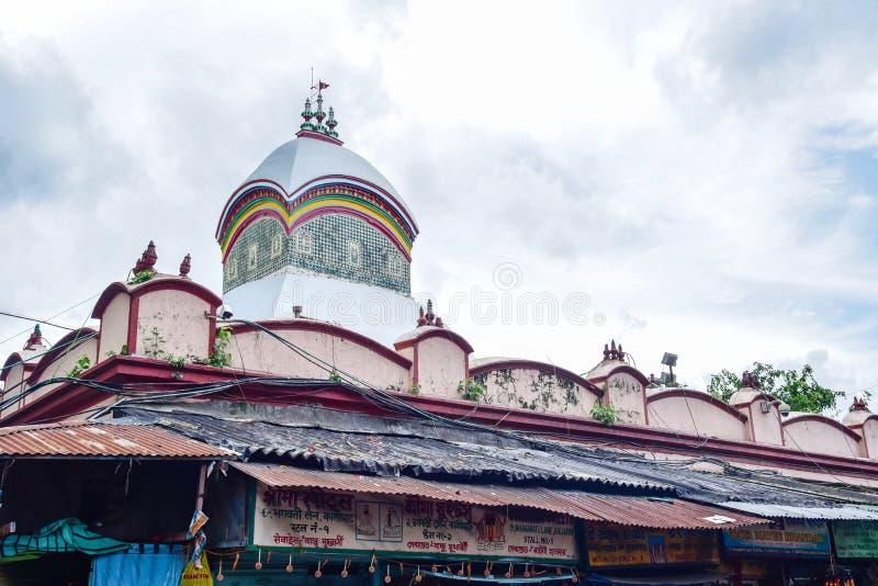 Kalighat Kali Temple in Calcutta fotografia stock
