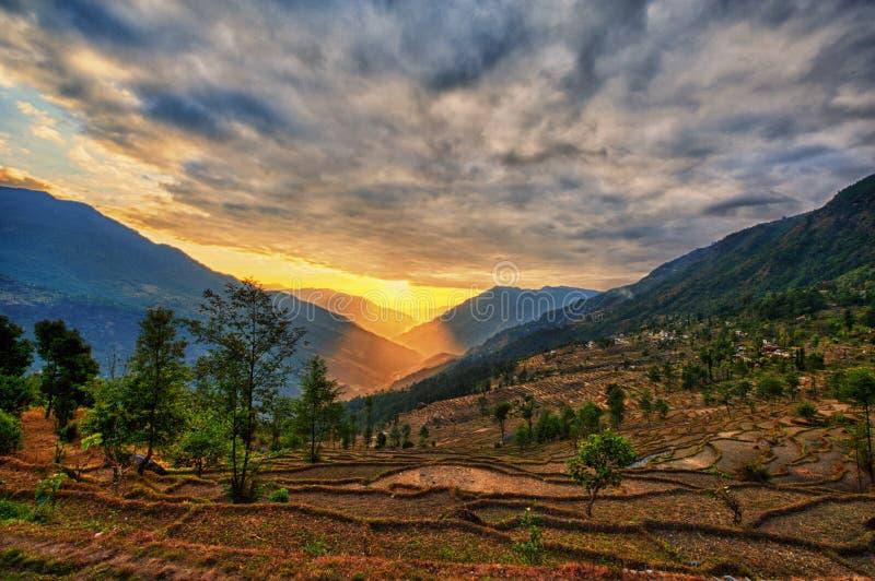 Kalinchok Kathmandu Valley Nepal arkivbild