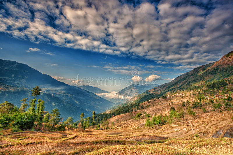 Kalinchok Kathmandu Valley Nepal stock image