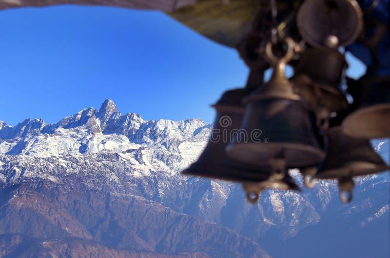 Kalinchowk, Dolkha, Nepal immagine stock