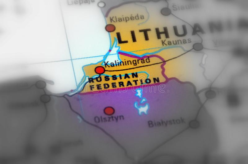 Kaliningrad - Federazione Russa immagine stock