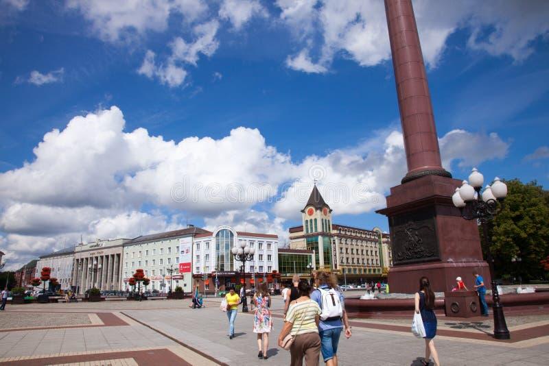 Kaliningrad, Rússia fotos de stock royalty free