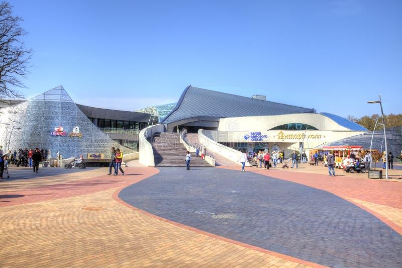 Kaliningrad region. The city of Svetlogorsk. Concert Hall Amber stock images