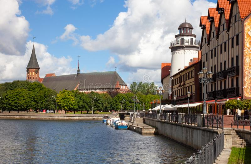 Kaliningrad, Russie images libres de droits