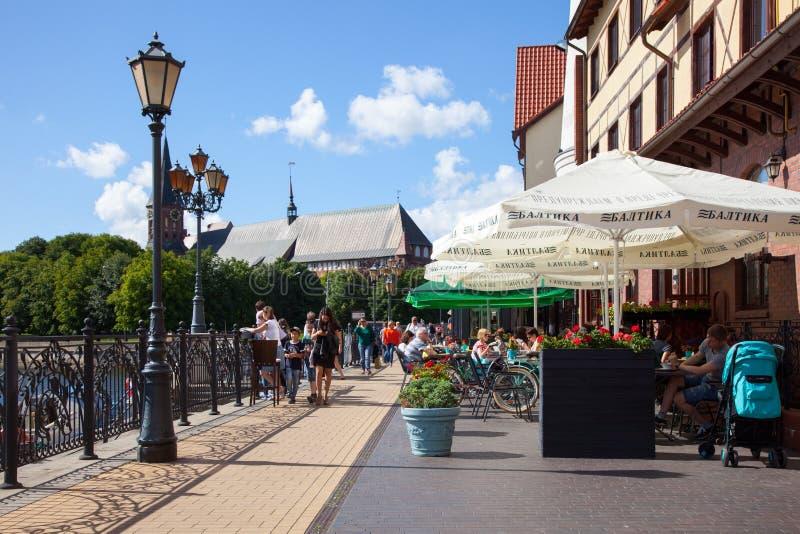 Kaliningrad Ryssland royaltyfri bild