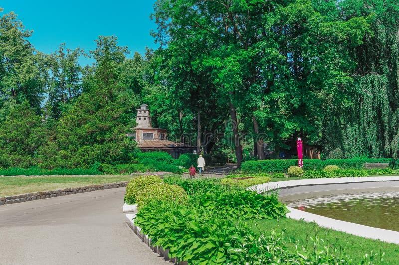 Kaliningrad zoo, Ryssland fotografering för bildbyråer