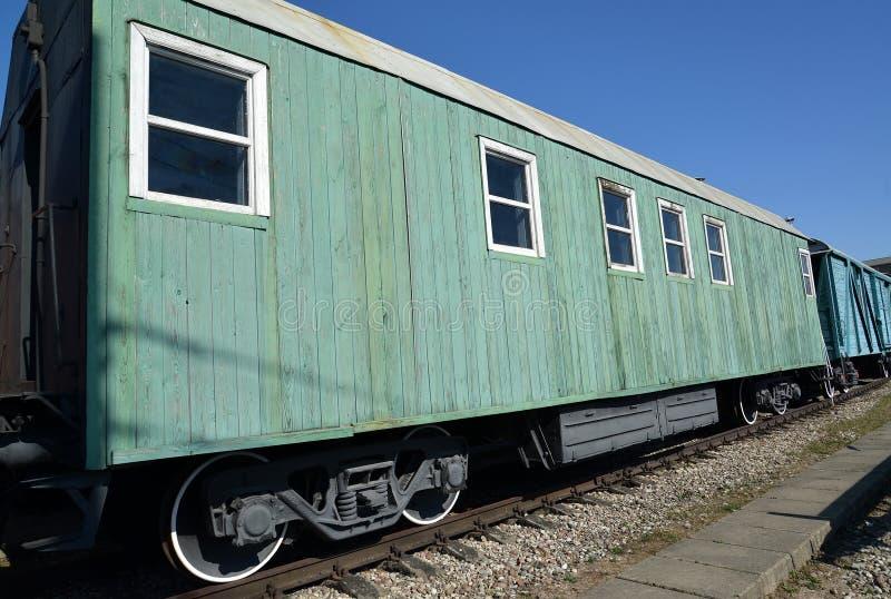 Kaliningrado, Rusia El lavadero del coche convertido del coche de carga Museo de la historia del Kaliningrado fotos de archivo