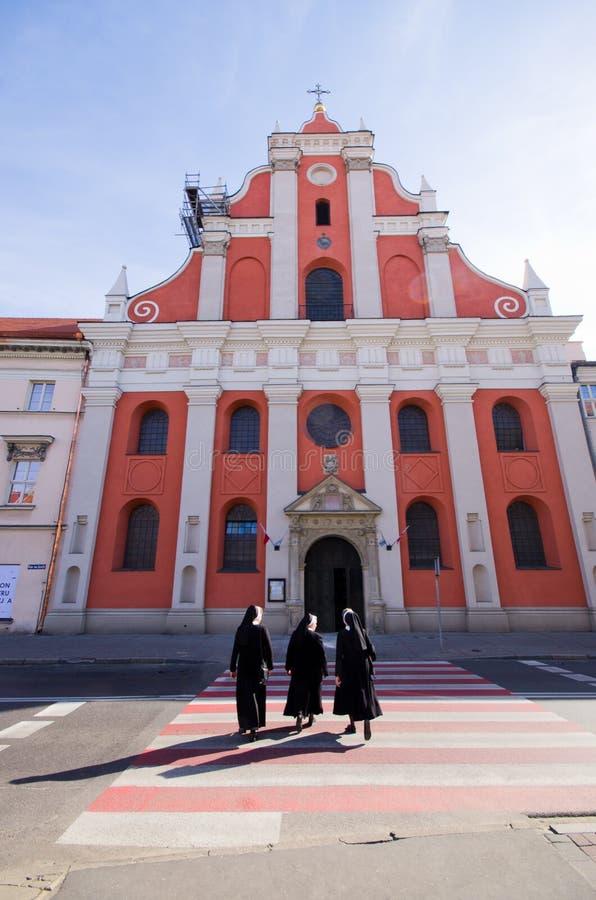 Kalisz in Polen lizenzfreies stockbild