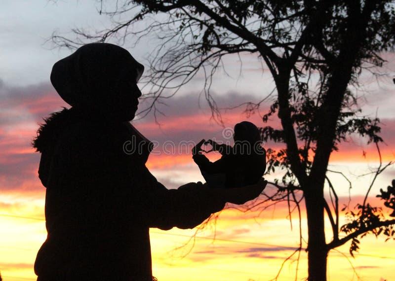Kaliurang стоковая фотография rf
