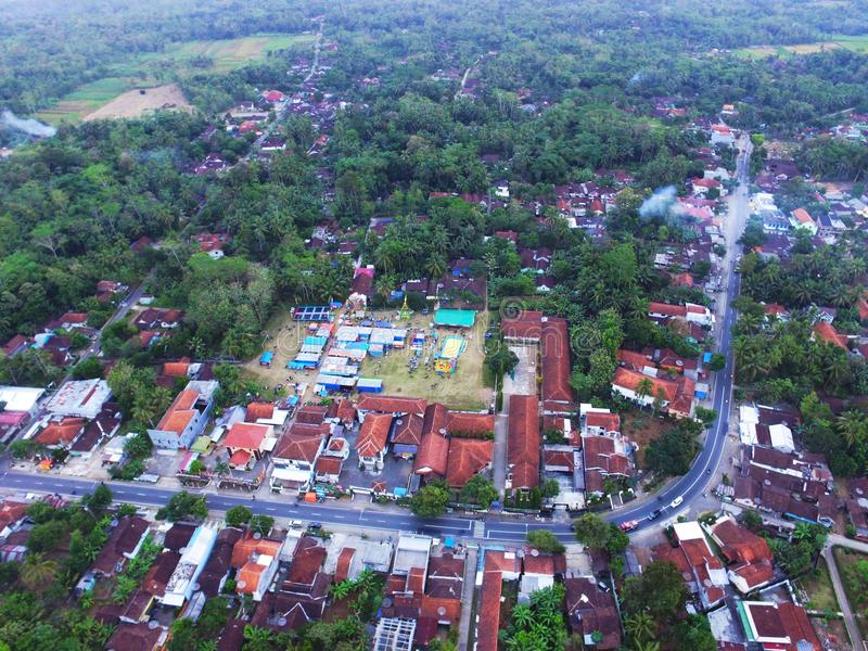 Kaliurip Bener Purworejo Indonesien royaltyfri foto