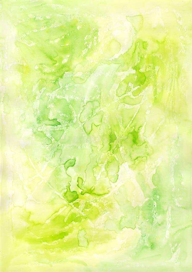 Kalk-Grün-Hintergrund stock abbildung