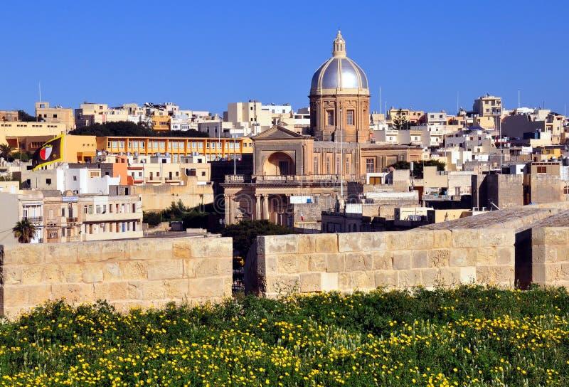 Kalkara, Malta stock foto's