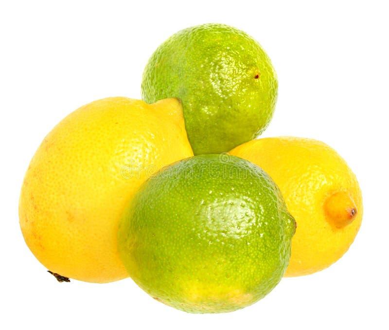 Download Kalke und Zitronen. stockbild. Bild von farbe, zitrone - 12202697