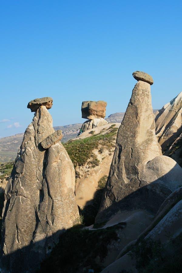 kalkon för cappadocialampglasfe arkivbild